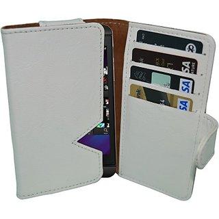 Totta Wallet Case Cover For Blackberry Z10 (White)