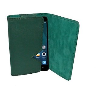 Totta Wallet Case Cover For Huawei Ascend P7 (Green)