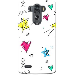 SaleDart Designer Mobile Back Cover for LG G3 D855 D850 D851 D852 LGG3KAA459
