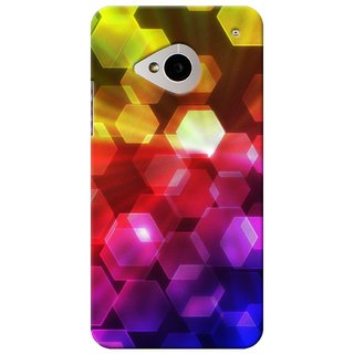 SaleDart Designer Mobile Back Cover for HTC One M7 HTCM7KAA476