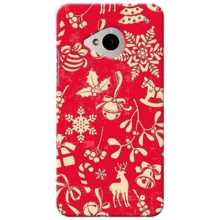 SaleDart Designer Mobile Back Cover for HTC One M7 HTCM7KAA603