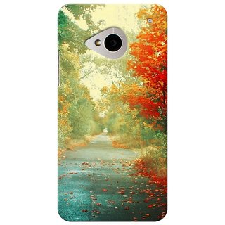 SaleDart Designer Mobile Back Cover for HTC One M7 HTCM7KAA605