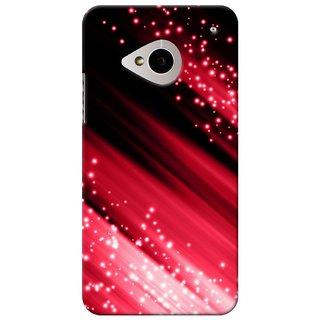 SaleDart Designer Mobile Back Cover for HTC One M7 HTCM7KAA606