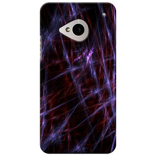 SaleDart Designer Mobile Back Cover for HTC One M7 HTCM7KAA617