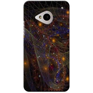 SaleDart Designer Mobile Back Cover for HTC One M7 HTCM7KAA619