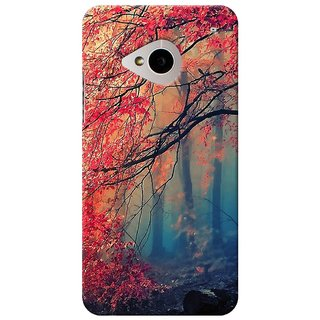 SaleDart Designer Mobile Back Cover for HTC One M7 HTCM7KAA620