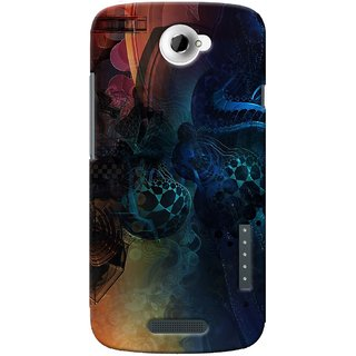 SaleDart Designer Mobile Back Cover for HTC One X HTC1XKAA643
