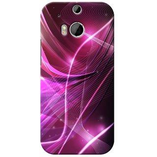 SaleDart Designer Mobile Back Cover for HTC One M8 HTCM8KAA647
