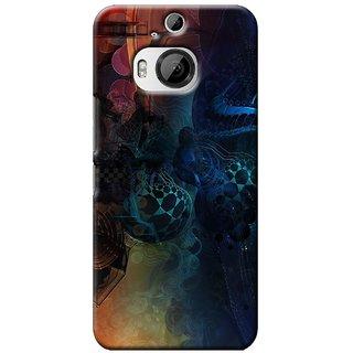 SaleDart Designer Mobile Back Cover for HTC One M9 Plus + HTCM9PKAA643