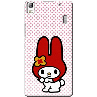 SaleDart Designer Mobile Back Cover for Lenovo A7000 Plus LA7000PKAA642