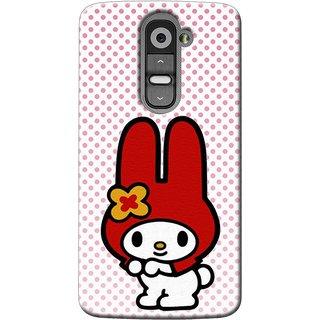 SaleDart Designer Mobile Back Cover for LG G2 LGG2KAA642
