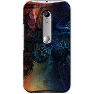 SaleDart Designer Mobile Back Cover for Motorola Moto X Play MOTOXPKAA643