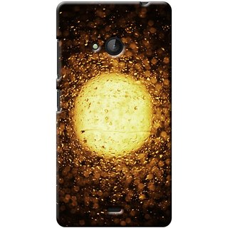 SaleDart Designer Mobile Back Cover for Microsoft Nokia Lumia 540 NL540KAA641