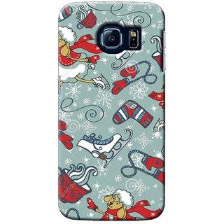 SaleDart Designer Mobile Back Cover for Samsung Galaxy S6 Edge SGS6EKAA640