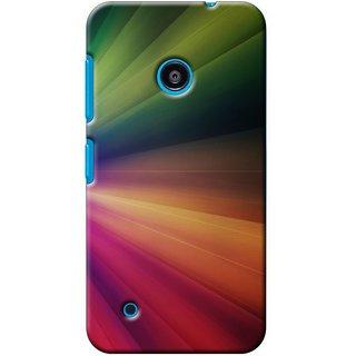 SaleDart Designer Mobile Back Cover for Microsoft Nokia Lumia 530 NL530KAA650