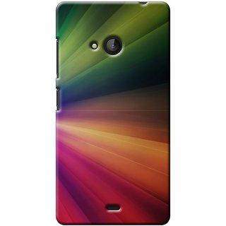 SaleDart Designer Mobile Back Cover for Microsoft Nokia Lumia 540 NL540KAA650