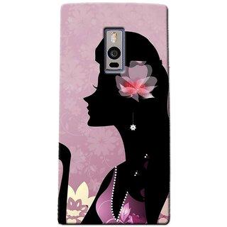 SaleDart Designer Mobile Back Cover for OnePlus Two OPTWOKAA648