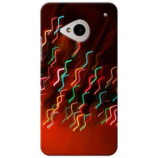 SaleDart Designer Mobile Back Cover for HTC One M7 HTCM7KAA527