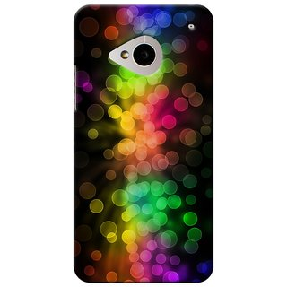 SaleDart Designer Mobile Back Cover for HTC One M7 HTCM7KAA529