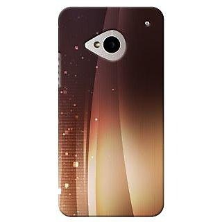 SaleDart Designer Mobile Back Cover for HTC One M7 HTCM7KAA531