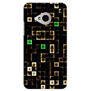 SaleDart Designer Mobile Back Cover for HTC One M7 HTCM7KAA53