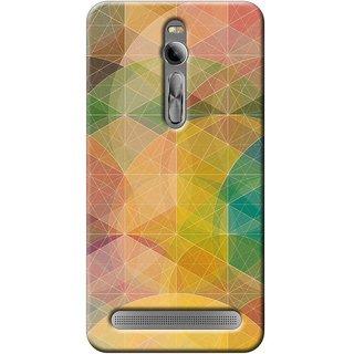 SaleDart Designer Mobile Back Cover for Asus ZenFone 2 AZF2KAA538
