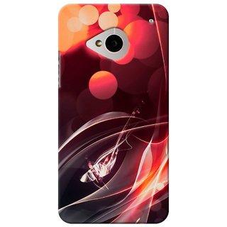 SaleDart Designer Mobile Back Cover for HTC One M7 HTCM7KAA535