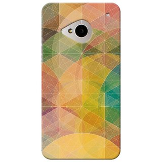 SaleDart Designer Mobile Back Cover for HTC One M7 HTCM7KAA538
