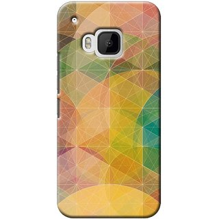 SaleDart Designer Mobile Back Cover for HTC One M9 HTCM9KAA538