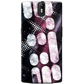 SaleDart Designer Mobile Back Cover for OnePlus One OPOKAA533