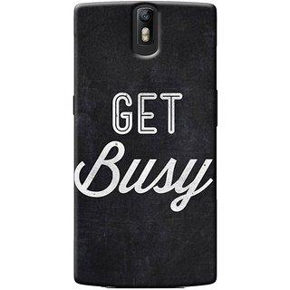 SaleDart Designer Mobile Back Cover for OnePlus One OPOKAA536