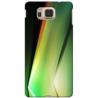 SaleDart Designer Mobile Back Cover for Samsung Galaxy Alpha G850 SGALPKAA539