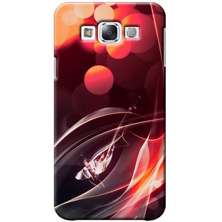 SaleDart Designer Mobile Back Cover for Samsung Galaxy E7 SGE7KAA535