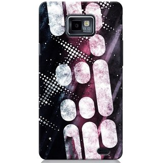 SaleDart Designer Mobile Back Cover for Samsung Galaxy S2 II I9100 SGS2KAA533