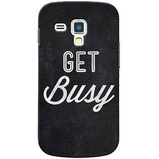 SaleDart Designer Mobile Back Cover for Samsung Galaxy S3 III Mini I8190 I8190N SGS3MKAA536