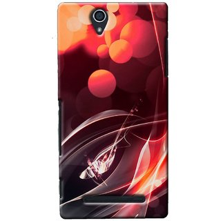 SaleDart Designer Mobile Back Cover for Sony Xperia C3 SXC3KAA535