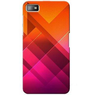 SaleDart Designer Mobile Back Cover for BlackBerry Z10 BBZ10KAA544