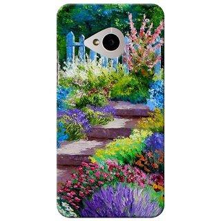 SaleDart Designer Mobile Back Cover for HTC One M7 HTCM7KAA546