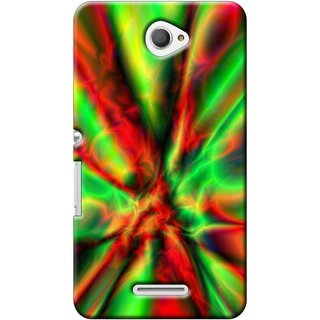 SaleDart Designer Mobile Back Cover for Sony Xperia E4 SXE4KAA541