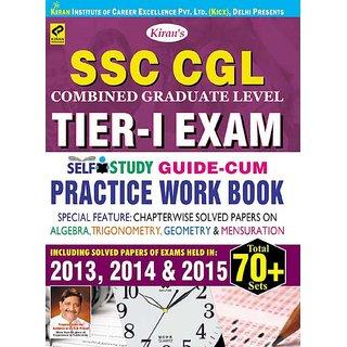 SSC CGL Tier - I Exam Practice Work Book - English