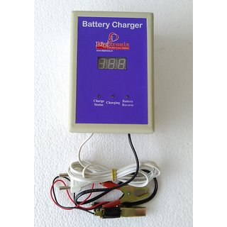 CAR / BIKE Battery Charger- with digital display