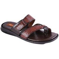 Balujas Mens Tan Slip On Sandals - 93011815