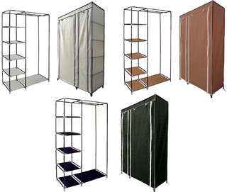 Folding wardrobe almirah A-2 light and Trendy