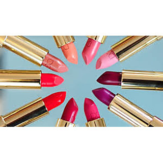 Combo of 10 lipsticks in vivid colors
