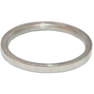 Men Style Elegant Punjabi Pure Punjabi Kada  Silver  Stainless Steel Round Kada For Men And Boys