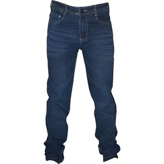 sapnas mens casual wear jeans blue in color