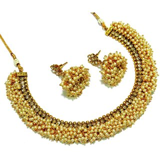 necklaces jewellery simulated sets imitated charmloop set pearl and glam shop bridal ne glamour
