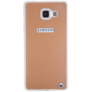 Stuffcool Levog Soft  Leather Back Case Cover for Samsung Galaxy A5 2016 - Brown
