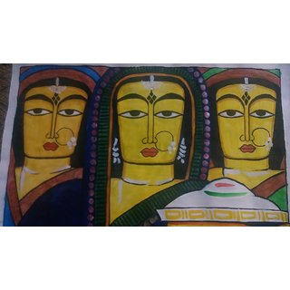Handmade Decorative Trible Painting
