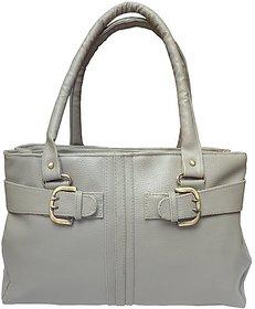 Arc HH Women Buckle Hand Bag Combo - Pink + Grey